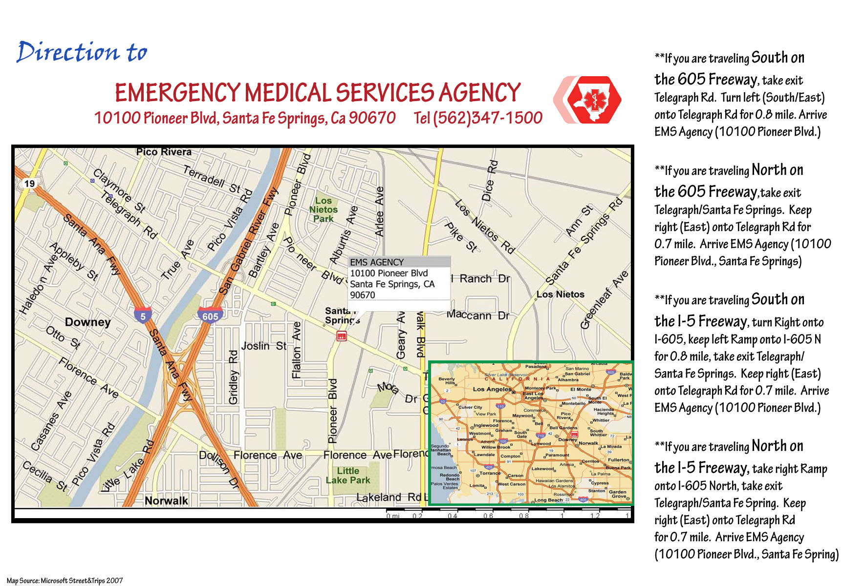 Los Angeles County Department of Health Services-Emergency